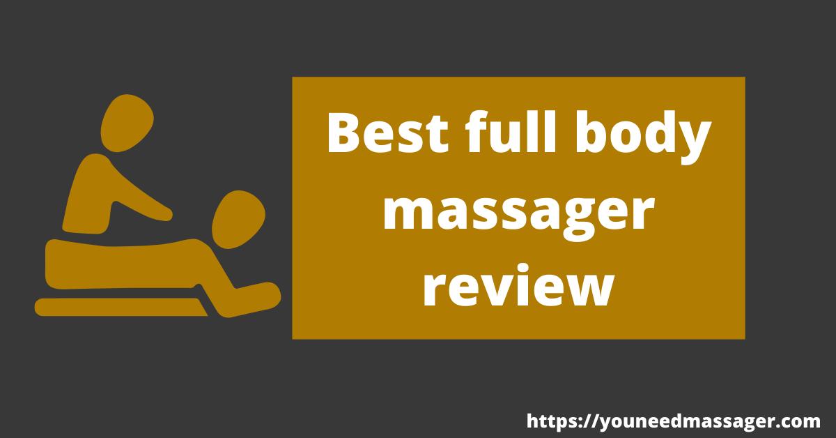 best full body massager